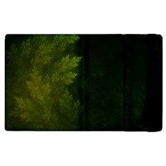 Beautiful Fractal Pines In The Misty Spring Night Apple Ipad Pro 9 7   Flip Case