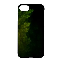 Beautiful Fractal Pines In The Misty Spring Night Apple Iphone 7 Hardshell Case by jayaprime