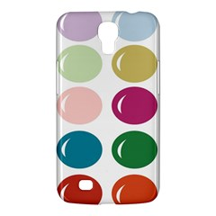 Brights Pastels Bubble Balloon Color Rainbow Samsung Galaxy Mega 6 3  I9200 Hardshell Case by Mariart