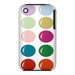 Brights Pastels Bubble Balloon Color Rainbow Iphone 3s/3gs by Mariart