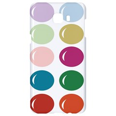 Brights Pastels Bubble Balloon Color Rainbow Samsung C9 Pro Hardshell Case