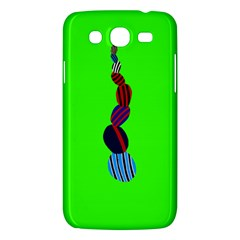 Egg Line Rainbow Green Samsung Galaxy Mega 5 8 I9152 Hardshell Case  by Mariart