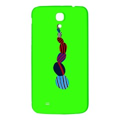 Egg Line Rainbow Green Samsung Galaxy Mega I9200 Hardshell Back Case by Mariart