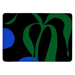 Flower Green Blue Polka Dots Samsung Galaxy Tab 8 9  P7300 Flip Case by Mariart