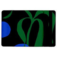 Flower Green Blue Polka Dots Ipad Air 2 Flip by Mariart