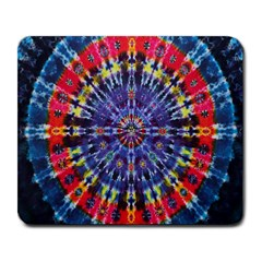 Circle Purple Green Tie Dye Kaleidoscope Opaque Color Large Mousepads by Mariart