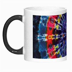Circle Purple Green Tie Dye Kaleidoscope Opaque Color Morph Mugs by Mariart