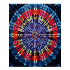 Circle Purple Green Tie Dye Kaleidoscope Opaque Color Shower Curtain 60  X 72  (medium)  by Mariart