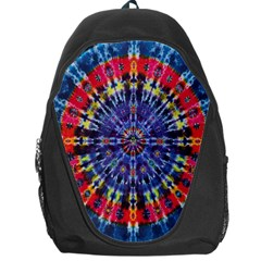 Circle Purple Green Tie Dye Kaleidoscope Opaque Color Backpack Bag by Mariart