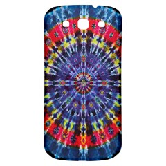 Circle Purple Green Tie Dye Kaleidoscope Opaque Color Samsung Galaxy S3 S Iii Classic Hardshell Back Case by Mariart