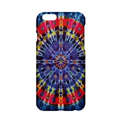 Circle Purple Green Tie Dye Kaleidoscope Opaque Color Apple Iphone 6/6s Hardshell Case by Mariart