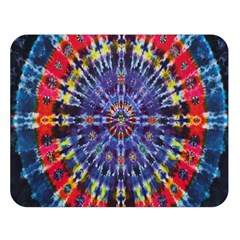 Circle Purple Green Tie Dye Kaleidoscope Opaque Color Double Sided Flano Blanket (large)  by Mariart
