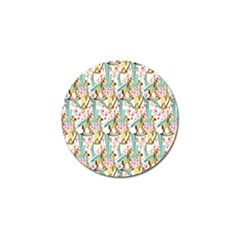 Wooden Gorse Illustrator Photoshop Watercolor Ink Gouache Color Pencil Golf Ball Marker by Mariart