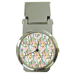 Wooden Gorse Illustrator Photoshop Watercolor Ink Gouache Color Pencil Money Clip Watches by Mariart
