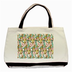 Wooden Gorse Illustrator Photoshop Watercolor Ink Gouache Color Pencil Basic Tote Bag by Mariart
