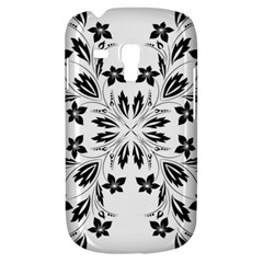 Floral Element Black White Galaxy S3 Mini by Mariart