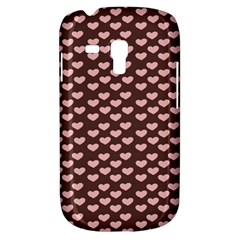 Chocolate Pink Hearts Gift Wrap Galaxy S3 Mini by Mariart