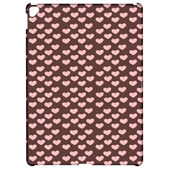Chocolate Pink Hearts Gift Wrap Apple iPad Pro 12.9   Hardshell Case by Mariart