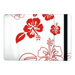 Hawaiian Flower Red Sunflower Samsung Galaxy Tab Pro 10 1  Flip Case by Mariart