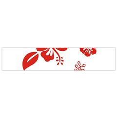 Hawaiian Flower Red Sunflower Flano Scarf (small) by Mariart