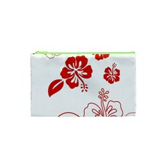 Hawaiian Flower Red Sunflower Cosmetic Bag (xs) by Mariart