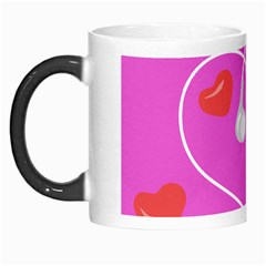Heart Love Pink Red Morph Mugs by Mariart