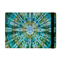 Green Flower Tie Dye Kaleidoscope Opaque Color Ipad Mini 2 Flip Cases by Mariart