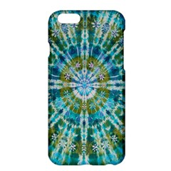 Green Flower Tie Dye Kaleidoscope Opaque Color Apple Iphone 6 Plus/6s Plus Hardshell Case by Mariart