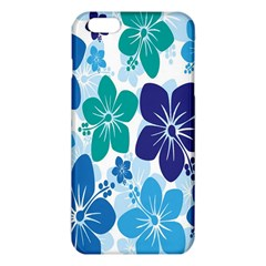 Hibiscus Flowers Green Blue White Hawaiian Iphone 6 Plus/6s Plus Tpu Case by Mariart