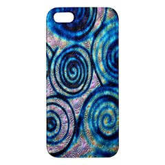 Green Blue Circle Tie Dye Kaleidoscope Opaque Color Iphone 5s/ Se Premium Hardshell Case by Mariart