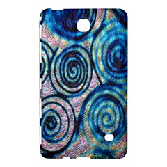 Green Blue Circle Tie Dye Kaleidoscope Opaque Color Samsung Galaxy Tab 4 (7 ) Hardshell Case  by Mariart