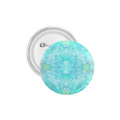 Green Tie Dye Kaleidoscope Opaque Color 1 75  Buttons