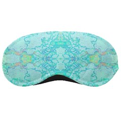 Green Tie Dye Kaleidoscope Opaque Color Sleeping Masks by Mariart