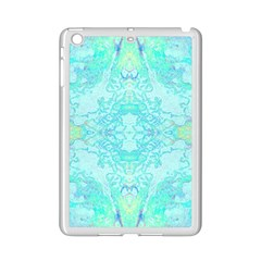 Green Tie Dye Kaleidoscope Opaque Color Ipad Mini 2 Enamel Coated Cases by Mariart
