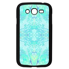 Green Tie Dye Kaleidoscope Opaque Color Samsung Galaxy Grand Duos I9082 Case (black) by Mariart