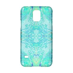 Green Tie Dye Kaleidoscope Opaque Color Samsung Galaxy S5 Hardshell Case  by Mariart