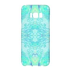 Green Tie Dye Kaleidoscope Opaque Color Samsung Galaxy S8 Hardshell Case