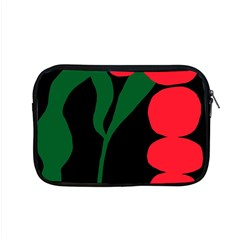 Illustrators Portraits Plants Green Red Polka Dots Apple MacBook Pro 15  Zipper Case