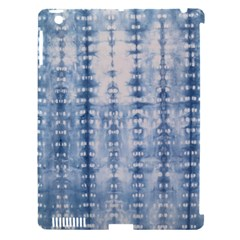 Indigo Grey Tie Dye Kaleidoscope Opaque Color Apple Ipad 3/4 Hardshell Case (compatible With Smart Cover) by Mariart