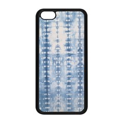Indigo Grey Tie Dye Kaleidoscope Opaque Color Apple Iphone 5c Seamless Case (black) by Mariart