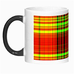 Line Light Neon Red Green Morph Mugs by Mariart