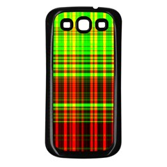 Line Light Neon Red Green Samsung Galaxy S3 Back Case (black) by Mariart