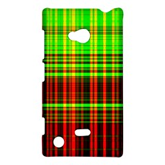 Line Light Neon Red Green Nokia Lumia 720 by Mariart