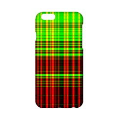 Line Light Neon Red Green Apple Iphone 6/6s Hardshell Case by Mariart