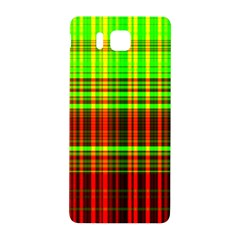 Line Light Neon Red Green Samsung Galaxy Alpha Hardshell Back Case by Mariart