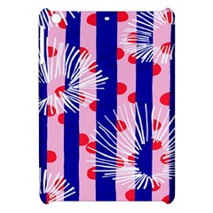 Line Vertical Polka Dots Circle Flower Blue Pink White Apple Ipad Mini Hardshell Case by Mariart