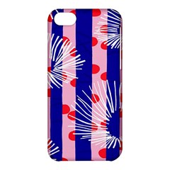 Line Vertical Polka Dots Circle Flower Blue Pink White Apple Iphone 5c Hardshell Case by Mariart