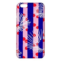 Line Vertical Polka Dots Circle Flower Blue Pink White Iphone 6 Plus/6s Plus Tpu Case by Mariart