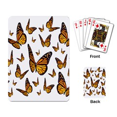 Butterfly Spoonflower Playing Card by Mariart