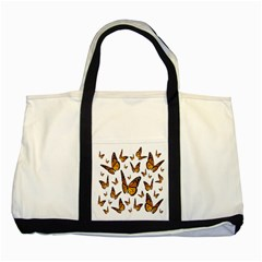 Butterfly Spoonflower Two Tone Tote Bag by Mariart